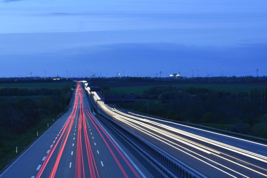 Free Picture Road Asphalt Expressway Fast Freeway
