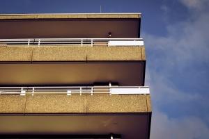 balkón, budov, architektúry, steny, fasády, betón, exteriér, dom