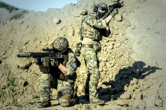 army, camouflage, desert, military, uniform, people, sand, soldiers