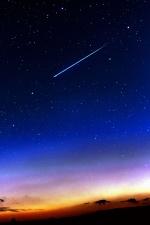 Estrella, astronomía, atmósfera, cielo, espacio, galaxia, noche
