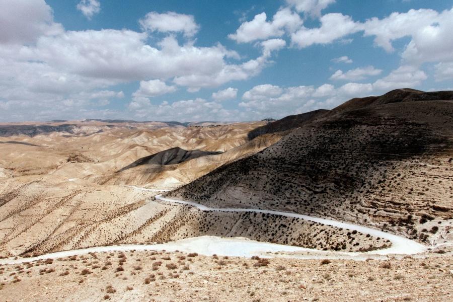 Strada, roccia, sabbia, cielo, pietre, strada, paesaggio, montagne, natura