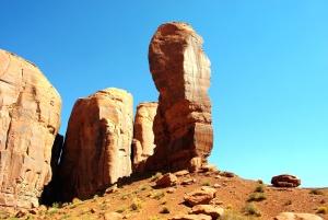 Paysage, nature, roche, sable, grès, désert, géologie