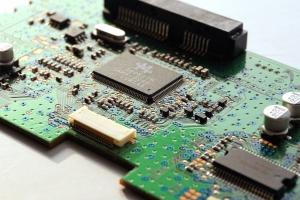 elektronika, mikroprocesor, základní deska, počítačový čip