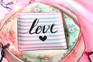 srdce, láska, design, dekorace růžová