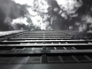 obloha, slnko, architektúra, budova, cloud