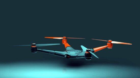 Mouvement, technologie, hélice, dron, objet volant, télécommande