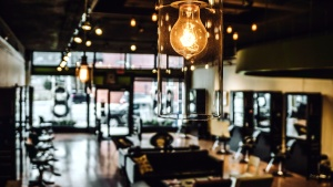 architecture, bar, light bulb, business, chairs, city, interior, furnitures, glass
