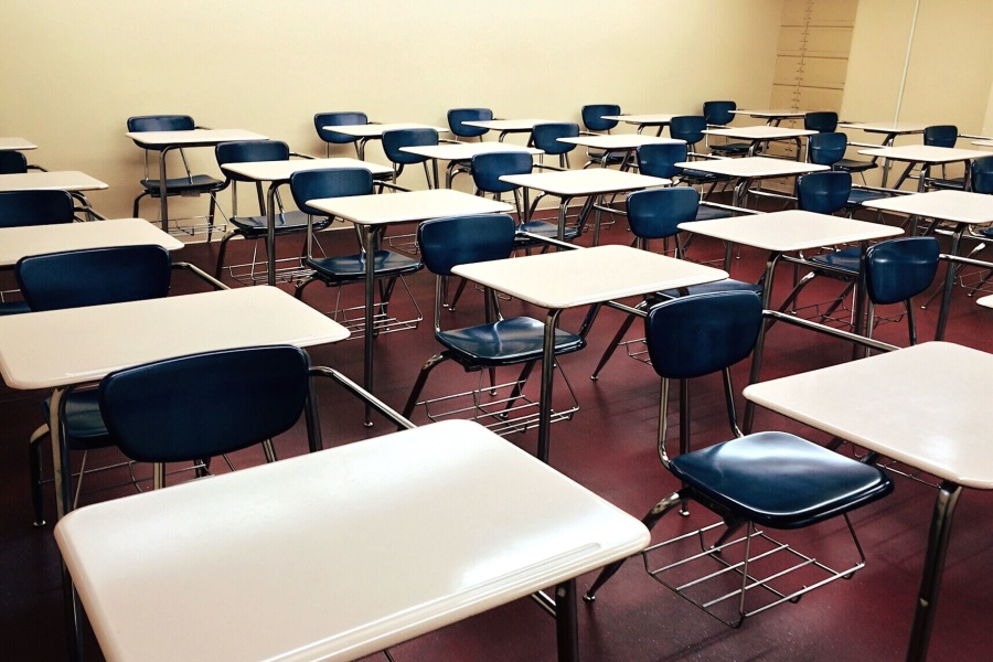 High School English Classroom Design ~ Free picture room rows school seat chairs classroom