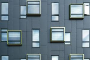 Fenêtres, architecture, bâtiment, verre
