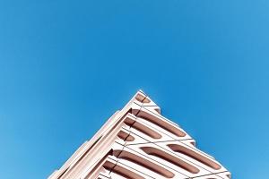 nebo, dizajn, arhitektura, eksterijer, futuristički