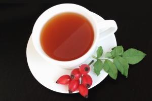 table, tea, teacup, berry, beverage, cup, drink, food, fruits