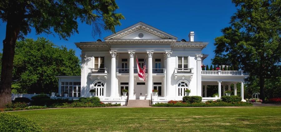 porch, house, exterior, lawn, architecture, building