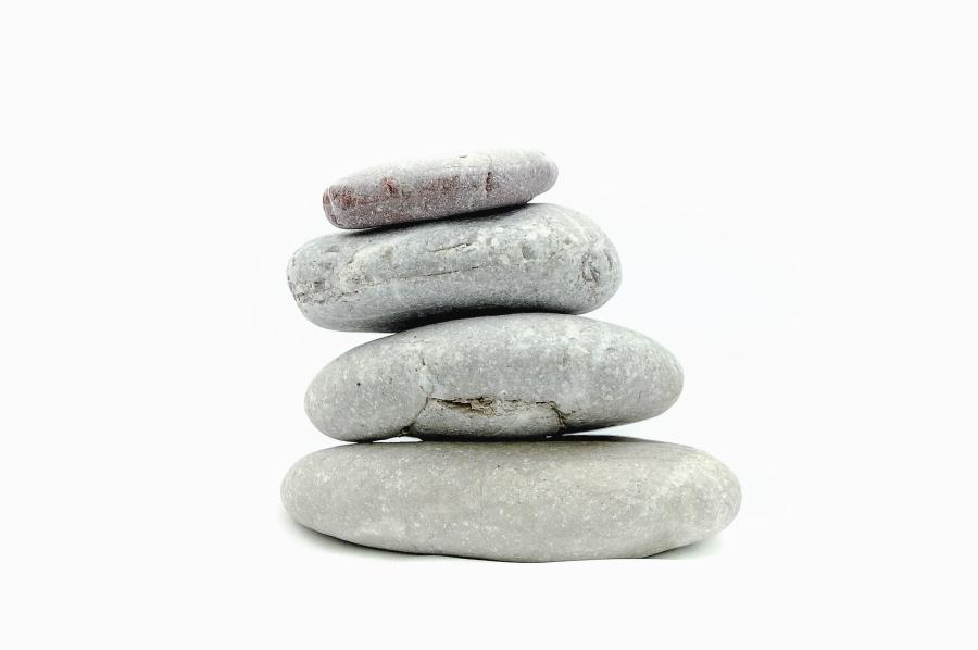 sự cân bằng, đá, sỏi, sỏi