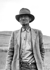 portret, šešir, čovječe, stari, osoba, jakna