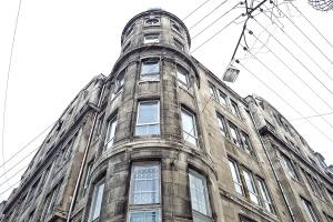 Architektur, gebäude, innenstadt, außen, fassade, fenster