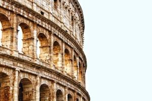 Amphitheater, alt, bogen, architektur, gebäude, außen, fassade, touristen attraktion