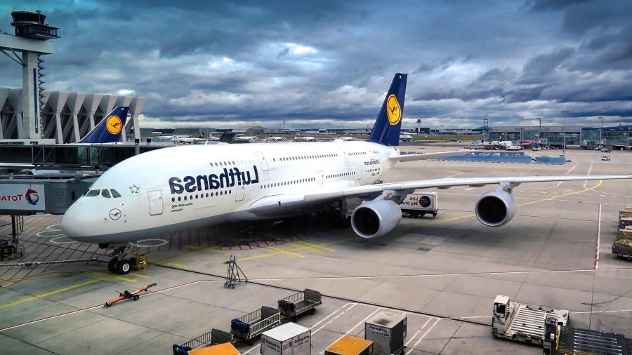 Avion, aéroport, entreprise, moteur, piste, technologie, transport
