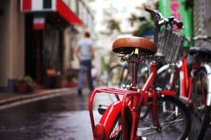 Fahrrad, Regen, Steet, Fahrräder