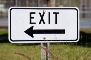 merkki nuoli, exit, liikenteenohjaus