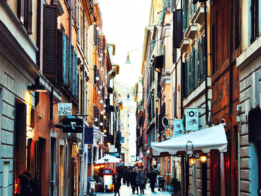Free picture: street, tourist, alley, ancient ...