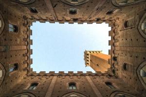 Architektur, gebäude, schloss, himmel