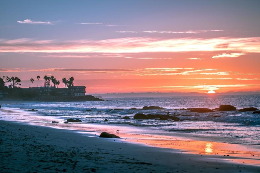 Cielo, estate, spiaggia, nube, viaggiare, albero, vacanza, acqua