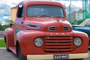 Oldtimer, bil, bil, klassisk
