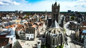 Città, città, urbano, architettura, edifici, cattedrale