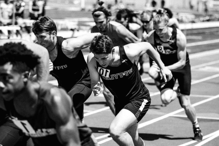 ljudi, trkače, trčanje, sport, brzina, vrijeme