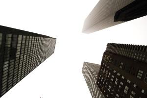 Arquitectura, edificio, negocio, ciudad, ventana, reflexión