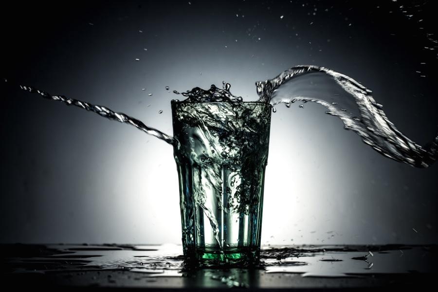 水, 玻璃, 运动, 淡水, 湿