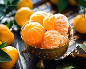 Orange, ovocia, vitamínov, jedlo, čerstvé, mandarínky, výživné