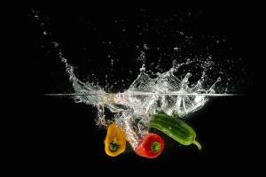 paprika, svježa voda, povrće, povrće