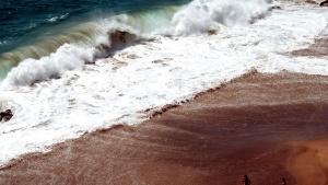 Wasser, Wellen, Strand, Menschen, Sand, Meer