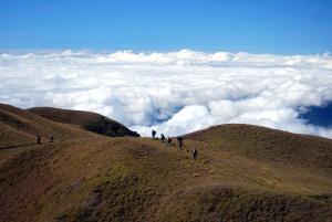 Menschen, Himmel, Hügel, Wolken, Landschaft, Berg