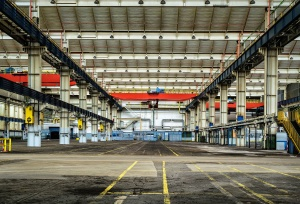factory, industry, architecture, building, steel, warehouse
