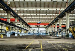 tvornice, industrije, arhitekture, zgrada, čelik, skladište
