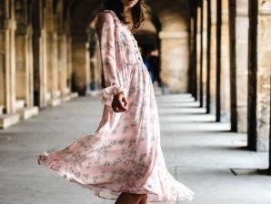 Frau, Gebäude, Kirche, Stadt, Kleid, Mode, Mädchen, Modell