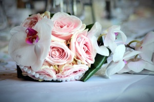 bouquet, beautiful, bloom, marriage, orchid, romance, flowers