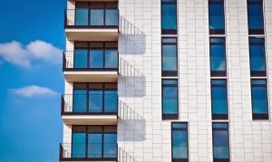 προβληματισμό, ουρανό, αστική, windows, διαμέρισμα, αρχιτεκτονική, μπαλκόνι, κτίριο, σύννεφα
