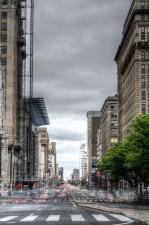 Calle, tráfico, urbano, arquitectura, edificio, empresa negocio, ciudad