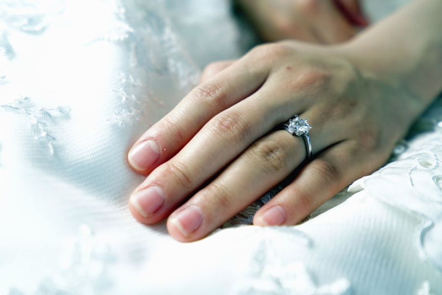 Free Picture Wedding Dress Woman Love Marriage Ring
