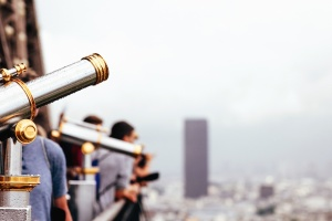 människor, arkitektur, kikare, byggnad, city, teknik, turism