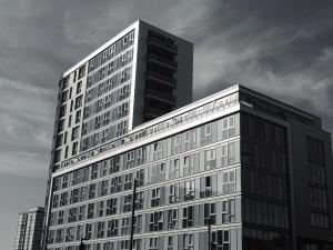 sky, steel, structure, windows, design, architecture