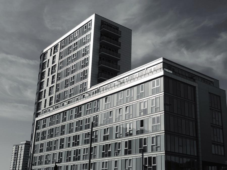 Foto gratis cielo acciaio struttura finestre disegno for Disegno di architettura online