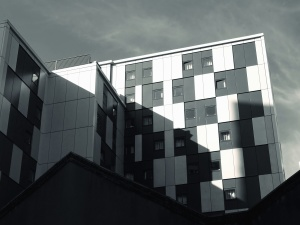 εξωτερικό, αστική, παράθυρα, αρχιτεκτονική, κτίριο, σχεδιασμού, φουτουριστικό, γυαλί