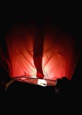 Celebración, color, oscuro, energía, iluminado, linterna, luz, noche