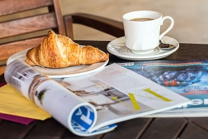 table, coffee cup, breakfast, drink, espresso, food