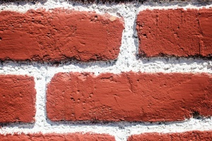 brick wall, groove, architecture