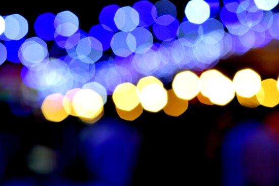 Ambient, світло, ніч